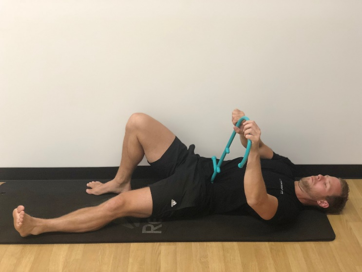 Hip Flexor Release using Theracane