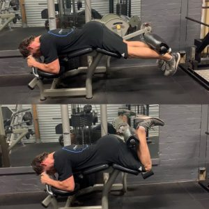 Hamstring Curl Exercise