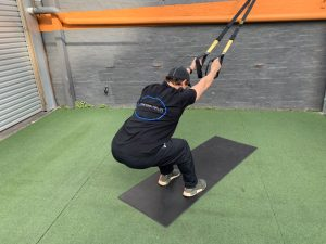 Suspension Training- Lat Stretch