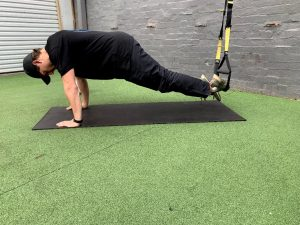 Suspension Training- Plank