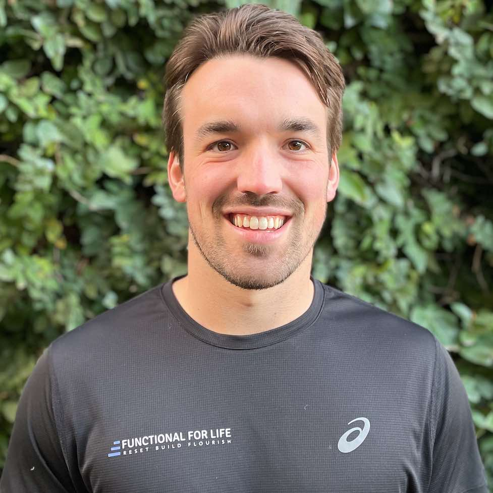 Ryan Bartlett personal trainer smiling